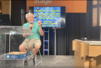 Alliance President Terry Gips presenting at the Minnesota State Fair